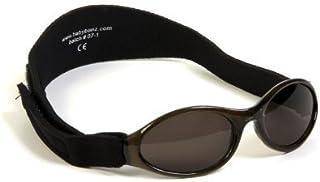 Baby Banz Adventure Banz Baby Sunglasses, Midnight Black, 0-2 Years