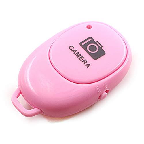 Obturador Remoto de la cámara Bluetooth, Control Remoto inalámbrico de la cámara Compatible con iPhone/teléfono Celular Android - CREA increíbles Fotos y Selfies,Correa para la muñeca incluida