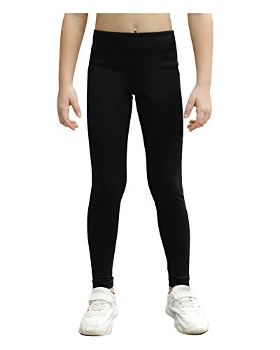 Stelle Girls Active Legging Athletic Dance Workout Running Yoga Pants Black