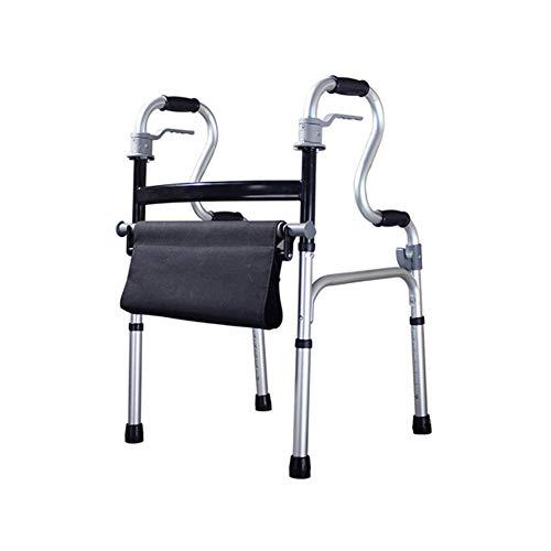 Loopframe, inklapbare hoogte walker voorwielsteun oudere Mobility Assistance