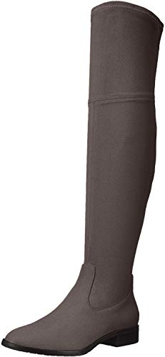 Ivanka Trump Women's Livi Over The Knee Boot, New Charcoal, 8.5 M US