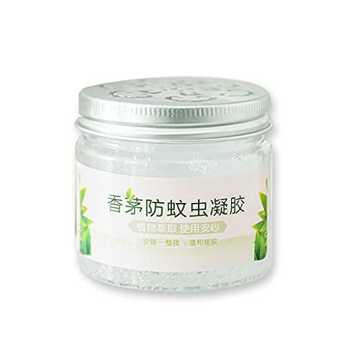 S-TROUBLE Crema Repelente de Mosquitos, bálsamo en Gel antimosquitos no tóxico para Plantas, citronela, Seguro para Mujeres Embarazadas, bebés