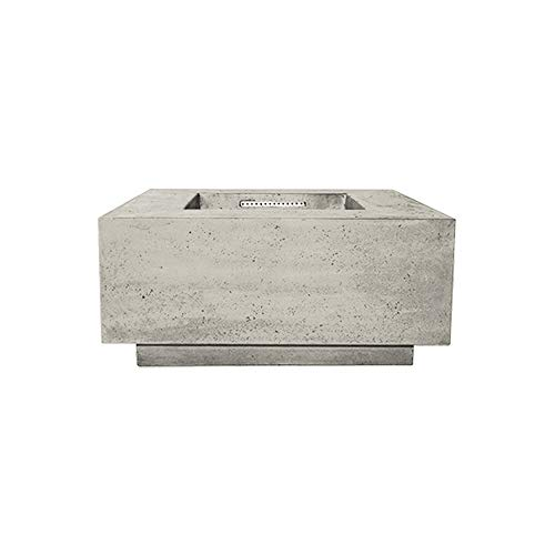 Read About Prism Hardscapes Tavola 2 Concrete Gas Fire Pit (PH-406-3NG), Natural Gas, Natural, 36x36...