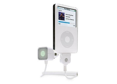 DLO AutoPod Car Charger for Apple iPod (White)