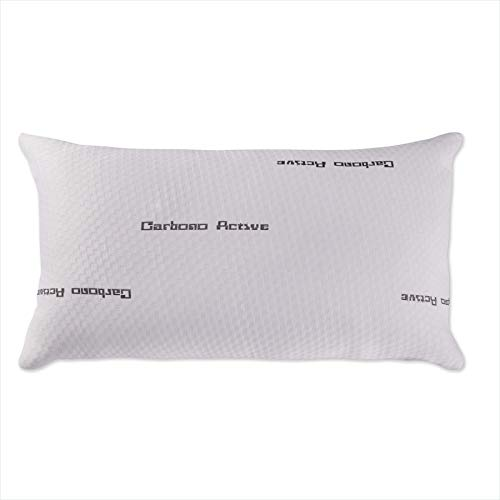 Dreaming Kamahaus Almohada de Copos viscoelásticos 135cm | Núcleo Copos visco | Hilo de Carbono Activo | Tejido Stretch | Refuerzo Interior Soft Foam