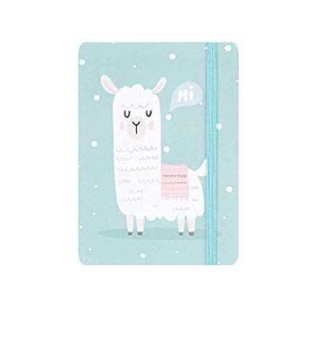 A7 Kawaii Cartoon Unicorn Notepad 96 páginas Rainbow Pony Cuadernos Diarios Cuaderno portátil Útiles escolares Papelería A710.5X7.596Pages sheep1