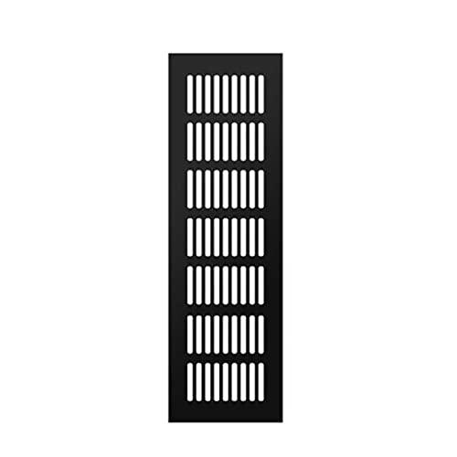Ventilación De Aire, Ancho 100mm Aleación De Aluminio Parrillas De Ventilación Transpirable, Gabinete De 3.94 Pulgadas Agujero De Ventilación De Aire (Color : 100×600mm)