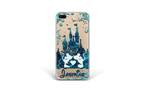 Kaidan Cute iPhone 12 11 Pro Max Case SE XS X XR 6 7 8 Plus Name Romantic Samsung Galaxy S10 + S10e Magic Castle S8 S9 S20 FE S21 Mouse Love Note 9 10 Lite 20 Ultra Google Pixel 5 Compatible LG apP33