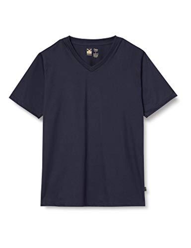 Trigema Herren 637203 T-Shirt, Blau (Navy 046), XXXX-Large