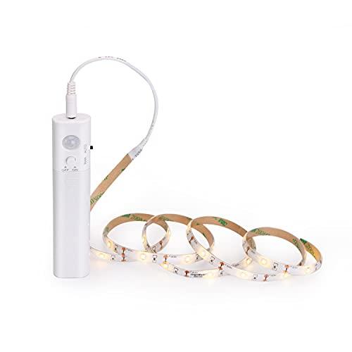 Aigostar - Tira Luz Cuerda de 1m con Sensor de Movimiento, Tira...