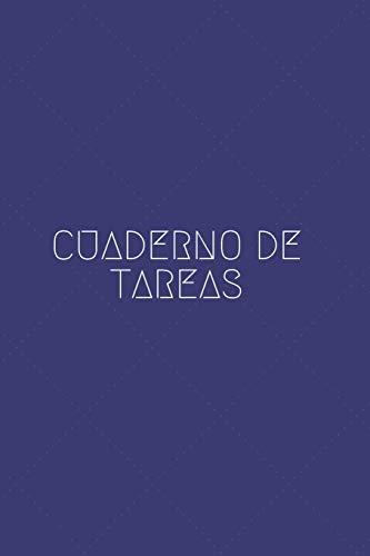 Cuaderno de Tareas: Libreta o Cuaderno To-do List | 110 Páginas para Apuntar tus Tareas | Mejora tu Eficiencia y Productividad