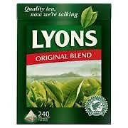 Lyons Original Irish Tea 240 Bags (Pack of 2)