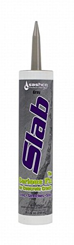 Sashco 16210 10.5 Oz Gray Slab Concrete Sealant