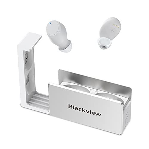Blackview AirBuds 2 Bluetooth Kopfhörer, TWS Kopfhörer in Ear Bluetooth 5.0 Integriertem Mikrofon und Typ-C Ladehülle, 25 Stunden Akkulaufzeit, Berührungssteuerung für Android und iOS