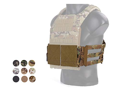 Elite Tribe Emerson Tactical Cummerbund Quick Release Mounting Strap for Vest JPC/419/420 (Coyote Brown)