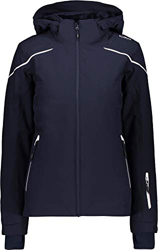 CMP Damen Skijacke Jacke, Black Blue, 38