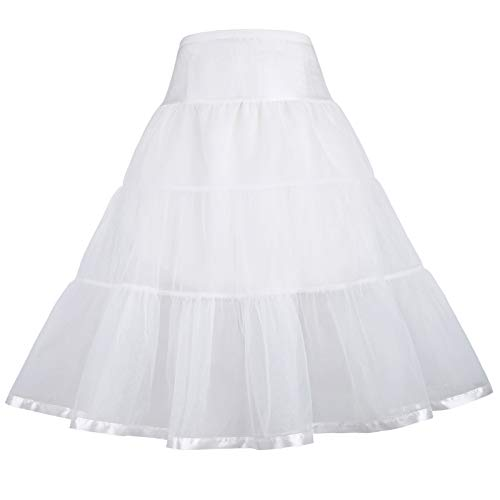 GRACE KARIN GRACE KARIN Maedchen Retro Petticoat Unterrock 10-11 Jahre CL11036-2