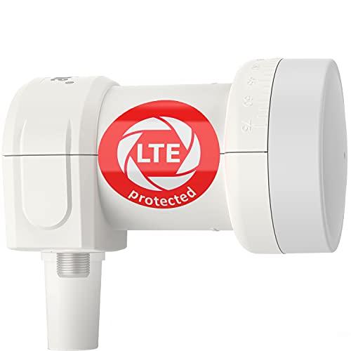 DUR-line + Ultra LNB – con filtro LTE [Test SEHR GUT ] X, digitale, Full HD, 4K, 3D, vincitore – qualità premium.