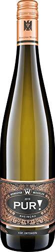 Weingüter Wegeler PUR Riesling VDP Wein Riesling 2018 Feinherb (1 x 0.75 l)