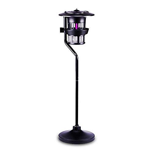 Lampe anti-moustique Mosquito Killer, lampe anti-évasion anti-fuite de moustique tueuse d'extérieur, source de lumière ultraviolette imperméable à l'eau, adapté à la cour, à l'extérieur, etc, deux st