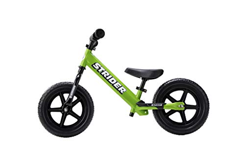 Strider-12 Sport Balance Bike Bici Senza Pedali, età da 18 Mesi a 5 Anni … (Verde)