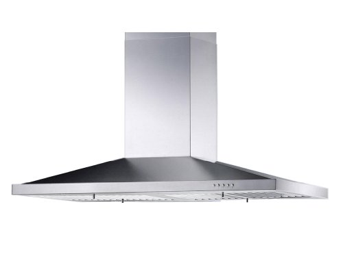 Blue Ocean 30' RH02I Stainless Steel Island Mount Kitchen Range Hood | 760 CFM | PRO PERFORMANCE | Over Stove Vent with 4 Lights | 3 Speed Exhaust Fan | Ducted / Ductless Convertible Duct