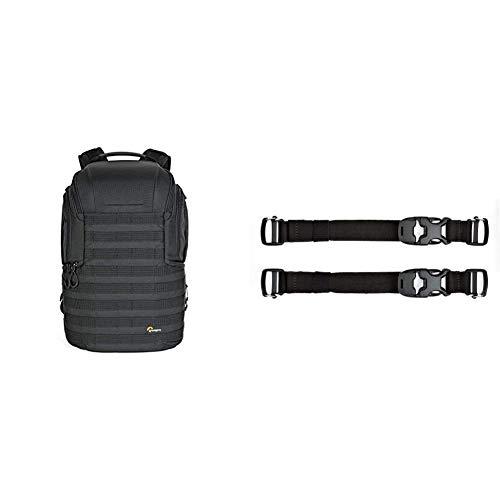 Lowepro ProTactic 450 AW II Black Pro Modular Backpack, Black & ProTactic Quick Straps Modular Accessory for ProTactic 350 AW II/450 AW II Backpacks LP37184-PWW