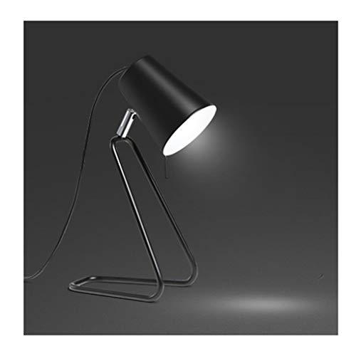Lfixhssf Moderne, verstelbare tafellamp, zwart, strijkijzer, bureaulamp, licht voor studenten, woonkamer, kantoor, studio, bedlampje, decoratie Lfixhssf