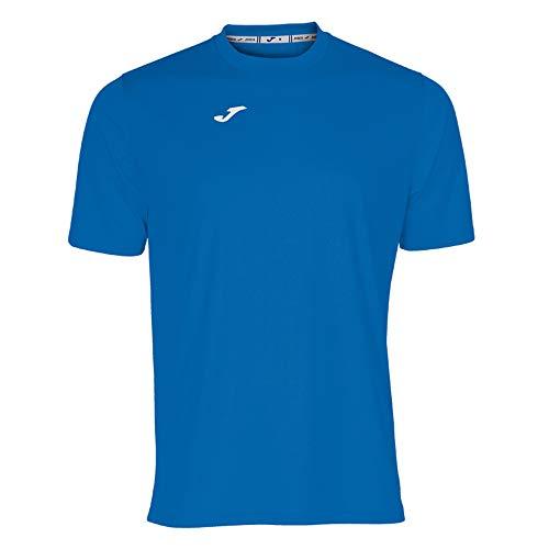 Joma Combi Camiseta Manga Corta, Hombre, Azul (Royal), S