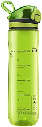 Letsfit Water Bottle Sports Water Bottle Tritan 100 BPA Free Non Toxic Plastic Fast Flow Flip product image