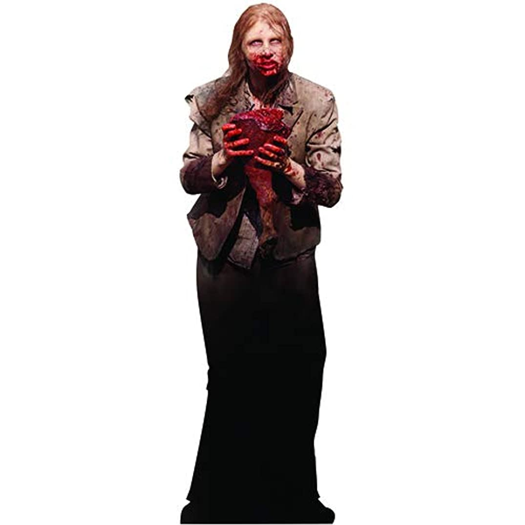 Wet Paint Printing + Design SC658 Feeding Zombie Walking Dead Cardboard Cutout