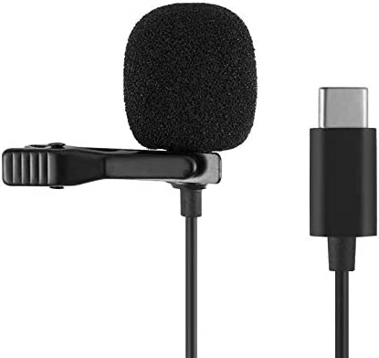 Microphone Professional for Android Type C Lavalier Lapel Omnidirectional Condenser Mic Phone product image