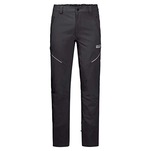 Jack Wolfskin Gravity Slope Pants Damen, Schwarz, 80