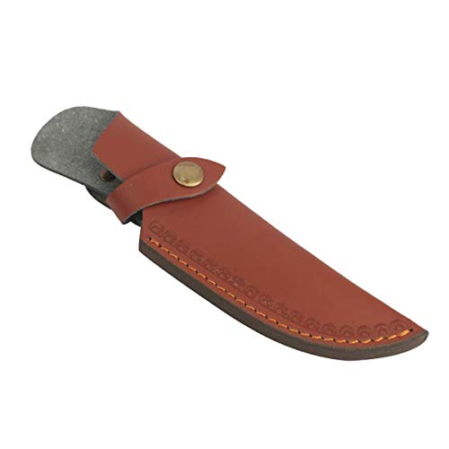 PXDREAM Hunting Leather Knives Sheath 8 inch Fixed Blade Knife Holster Case