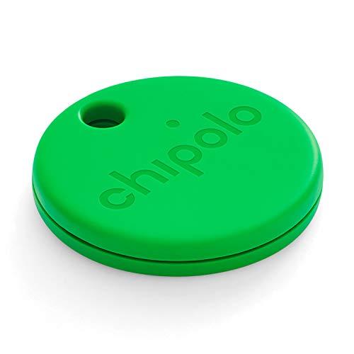 Chipolo ONE (2020) - Lautester Wasserresistentes Bluetooth Schlüsselfinder (Grün)