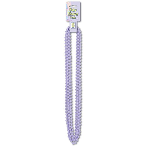 Baby Shower Beads (lavender) (6/Card)