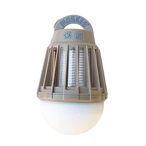 殺虫ライト付き!MOSKEE モスキーランタン yuragi 新機能追加 (SAND BEIGE)
