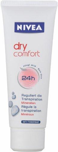 Nivea Deo Creme Dry Comfort , 4er Pack (4 x 75 ml)