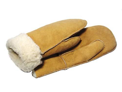 SAWA Handschuhe aus Lammfell für Damen und Herren Fausthandschuhe