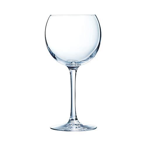 Chef & Sommelier ARC 47017 Cabernet Ballon Weinglas, 470ml, Krysta Kristallglas, transparent, 6 Stück
