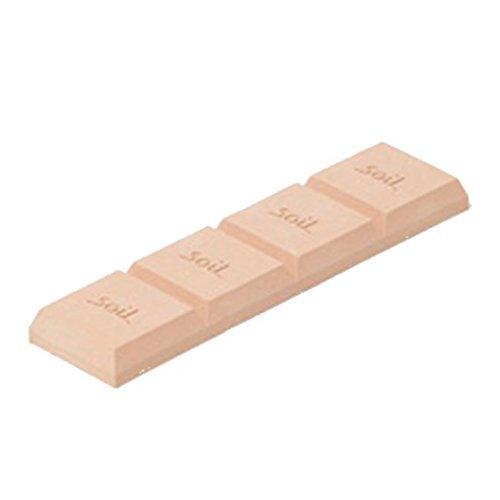 soil 珪藻土 ドライングブロック ピンク 「板チョコ型乾燥剤」