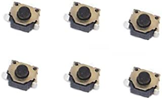 Left and Right LR L R Switch Button Board for Nintendo Switch ,Feicuan Replacement Parts Repair Accesseries (Pack of 6)