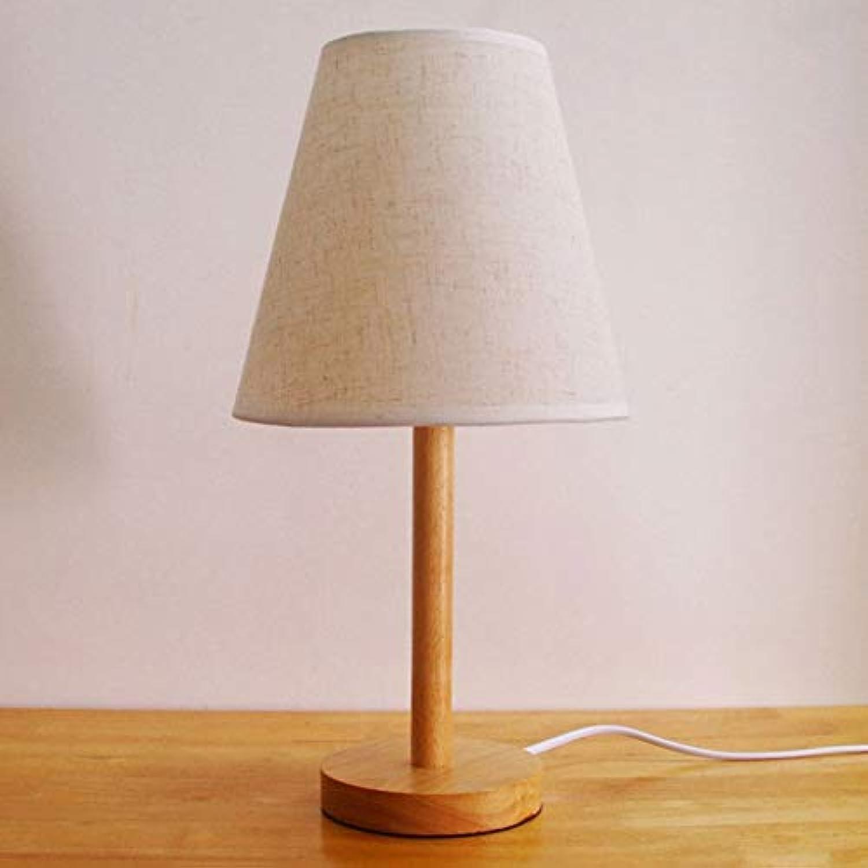Einfaches Modernes Schlafzimmer Des Schlafzimmers Des Massivholzlampenschlafzimmers Kreative Warme Wohnzimmer Nachttisch Führte Dekorative Lichter,Button-line