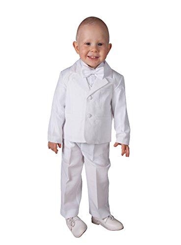 Boutique-Magique - Ropa de bautizo - para bebé niño blanco 24 Meses
