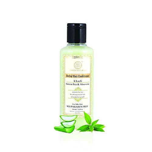 Khadi grüner Tee und Aloevera Hair Conditioner SLS und Paraben Free - 210ml