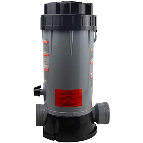 Updated CL200 in-line pool Automatic Chlorinator Feeder , Replacement Hayward CL200 In-line pool Automatic Chemical Feeder, Easy Installation, High-Grade ABS Material, Easy to Use (Carry Instructions)