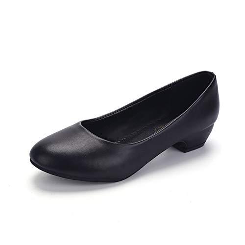 [ティマトン] パンプス レディース 靴 ぺたんこ 歩きやすい シューズ ローヒール (measurement_24_point_5_centimeters)