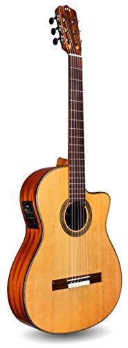 Cordoba Fusion 12 Natural CD Crossover Cutaway Acoustic-Electric Nylon String Guitar, Fusion Series