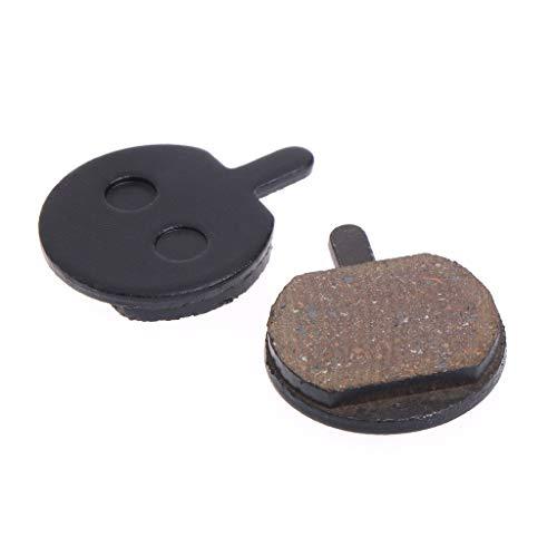 User - Pastillas de freno de disco para bicicleta, de resina, silenciosas,...