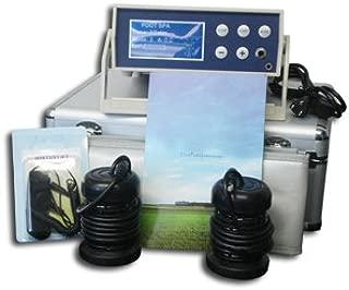 Cell Spa, Digital LCD Display Detox Ion Ionic Aqua Foot Bath Spa Chi Cleanse Fir Belt - Twice Powerful